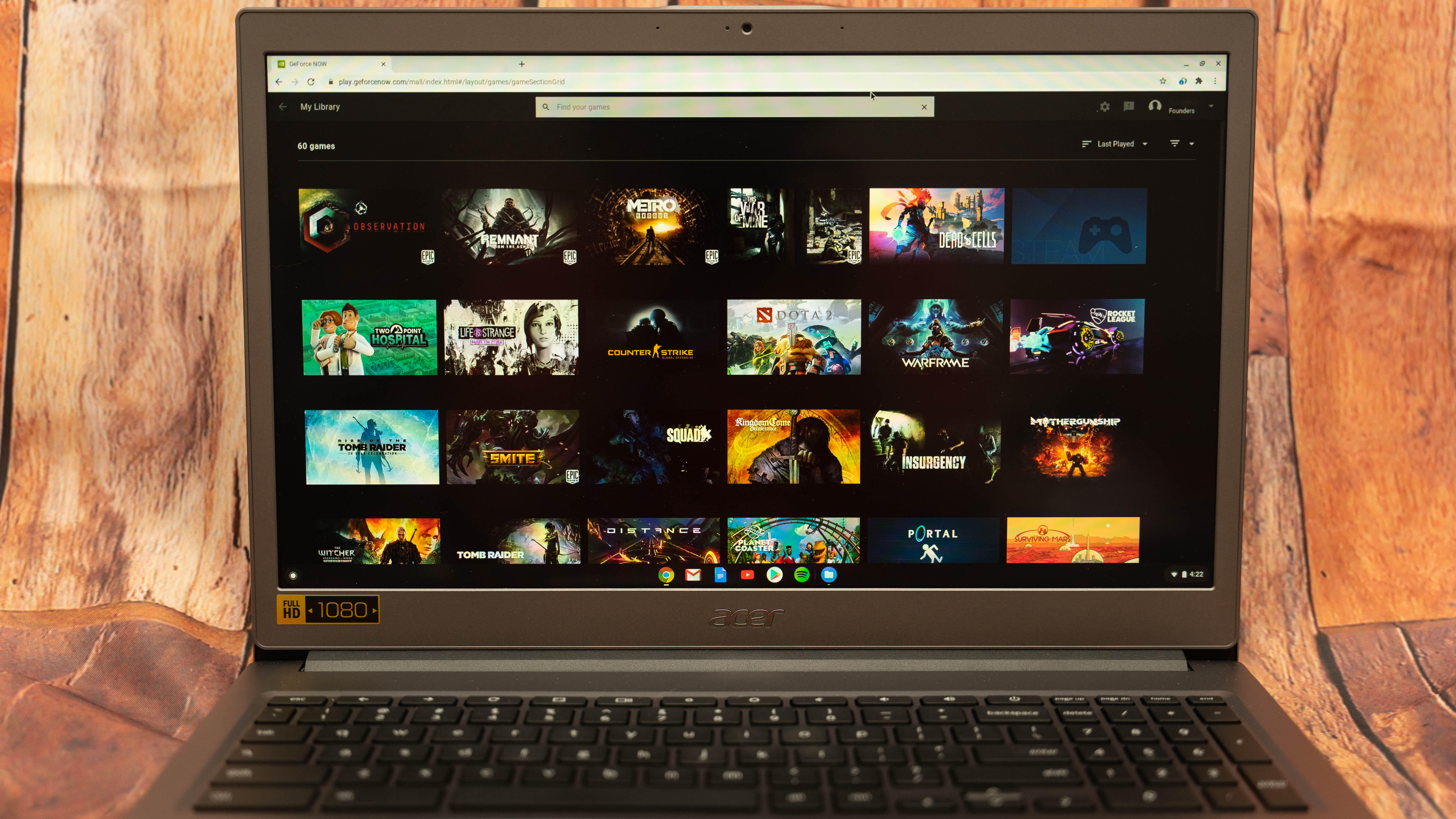 Chromebooks can now play PC games with GeForce Now