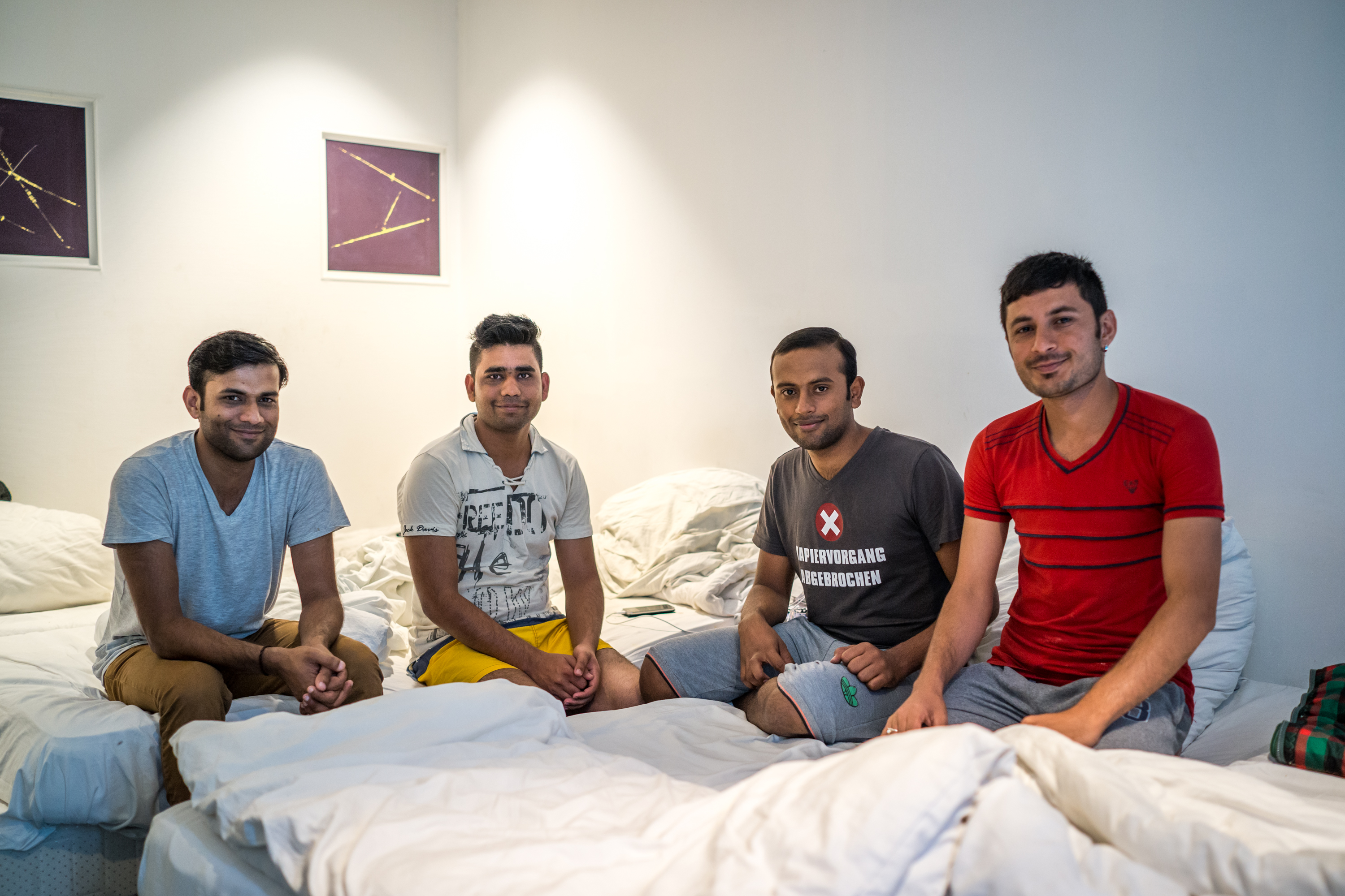 These Pakistani men continue to room together at the Spree.