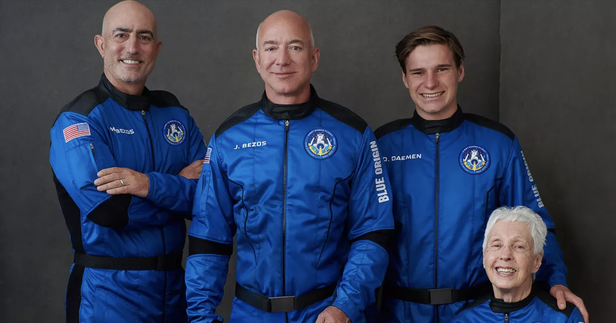 Teenager on Blue Origin flight told Bezos he never ordered to leave Amazon
