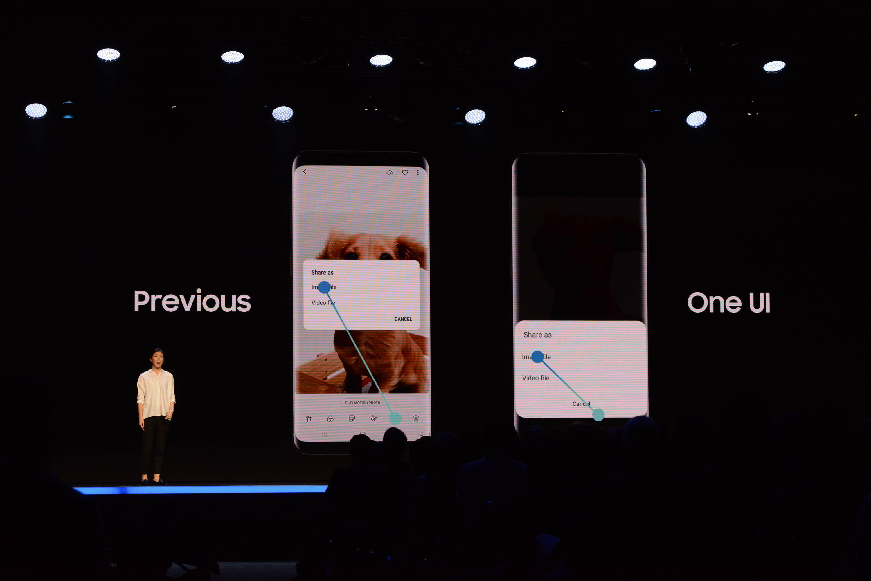 Samsung redesigns its smartphone user interface with One UI - CNET