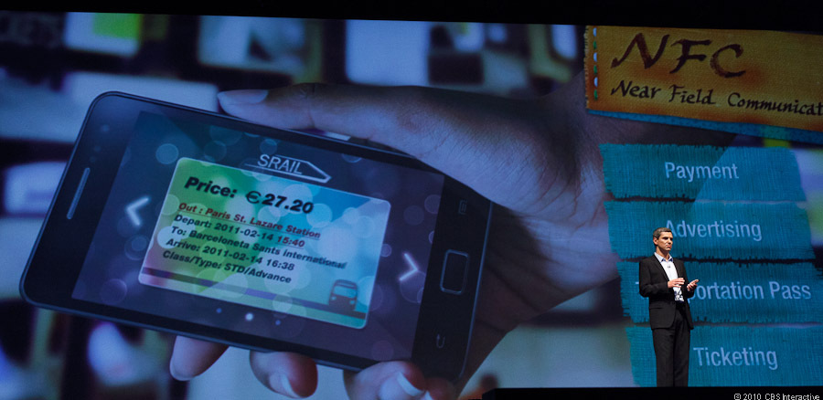 Galaxy S II's NFC support