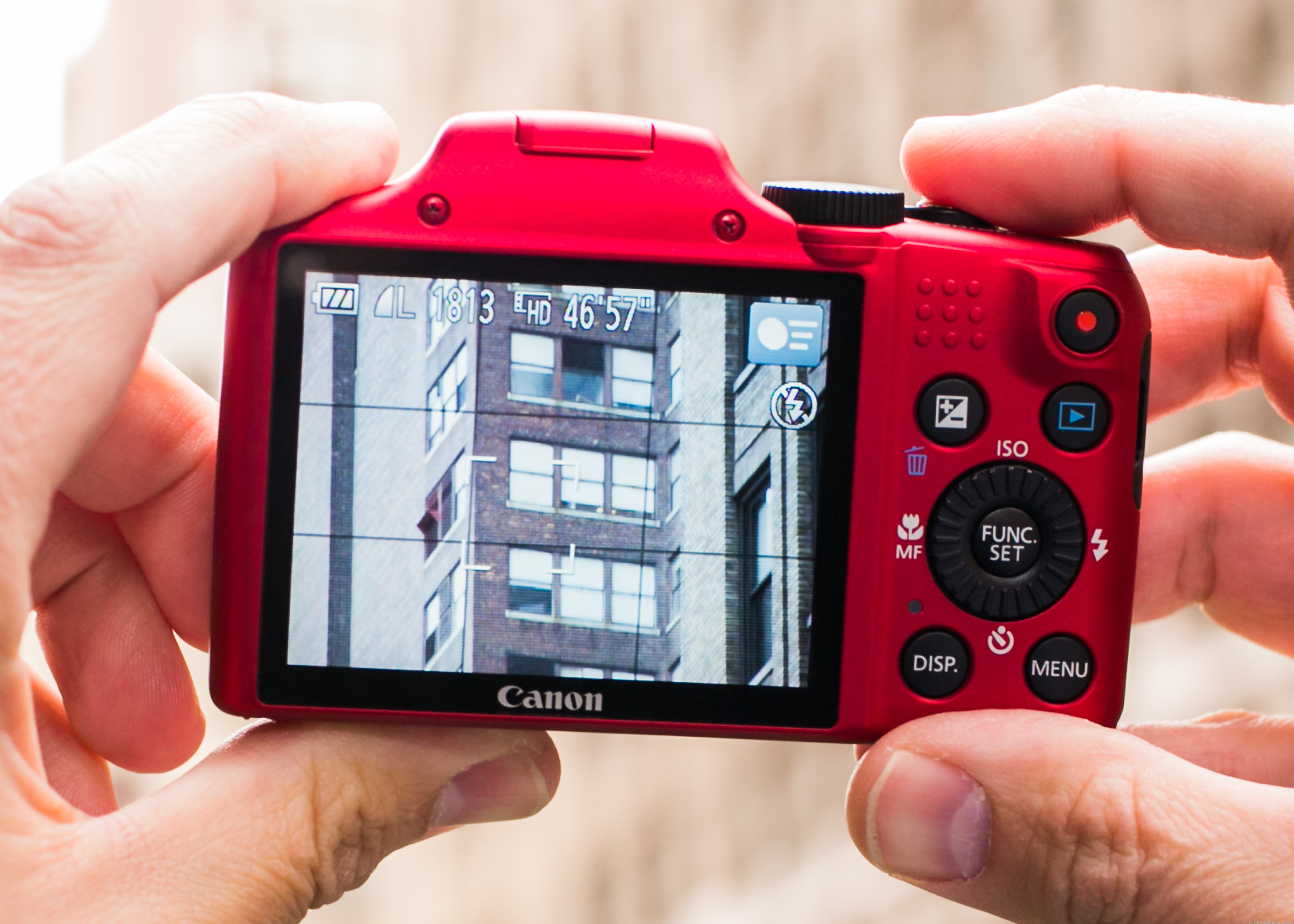 Canon PowerShot SX170 IS (Red)