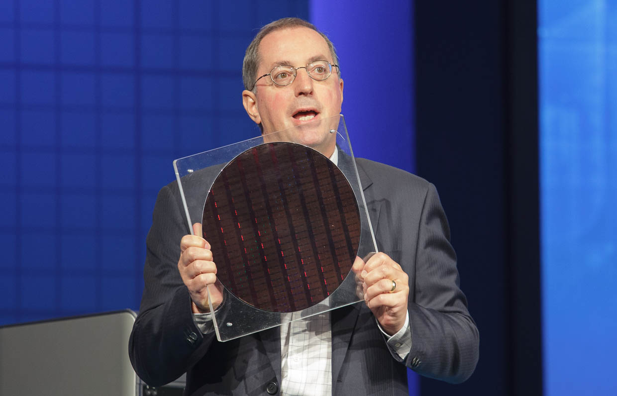 Intel CEO Paul Otellini in 2009 at the Intel Developer Forum