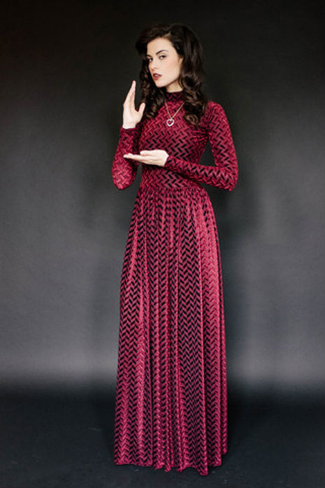 Perfect for a ball in the Black Lodge!