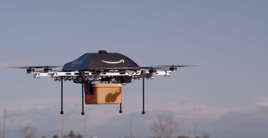 Amazon's package-delivery drones