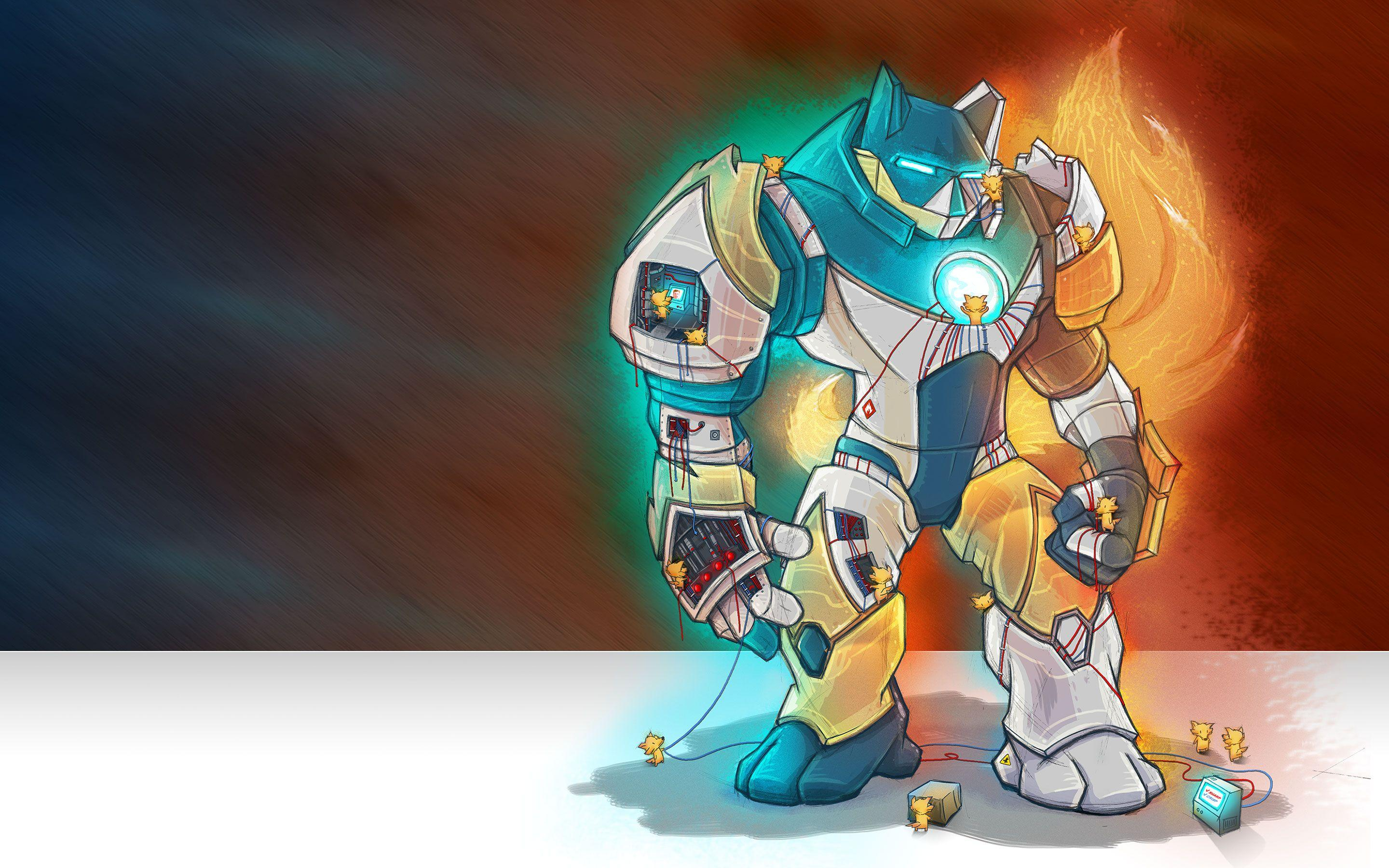 Mozilla created a hulking mecha suit named Mark 57 to rally its troops around the important Firefox 57 version due this November.
