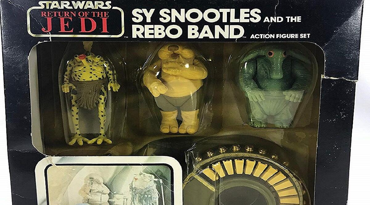Return of the Jedi Sy Snootles & the Rebo Band set