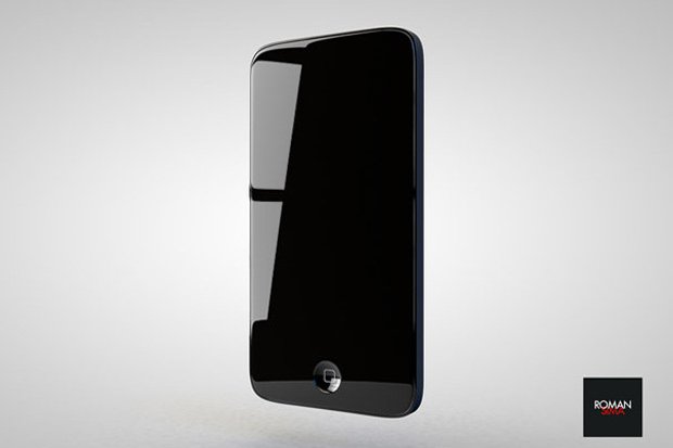 iPhone 5 concept glossy