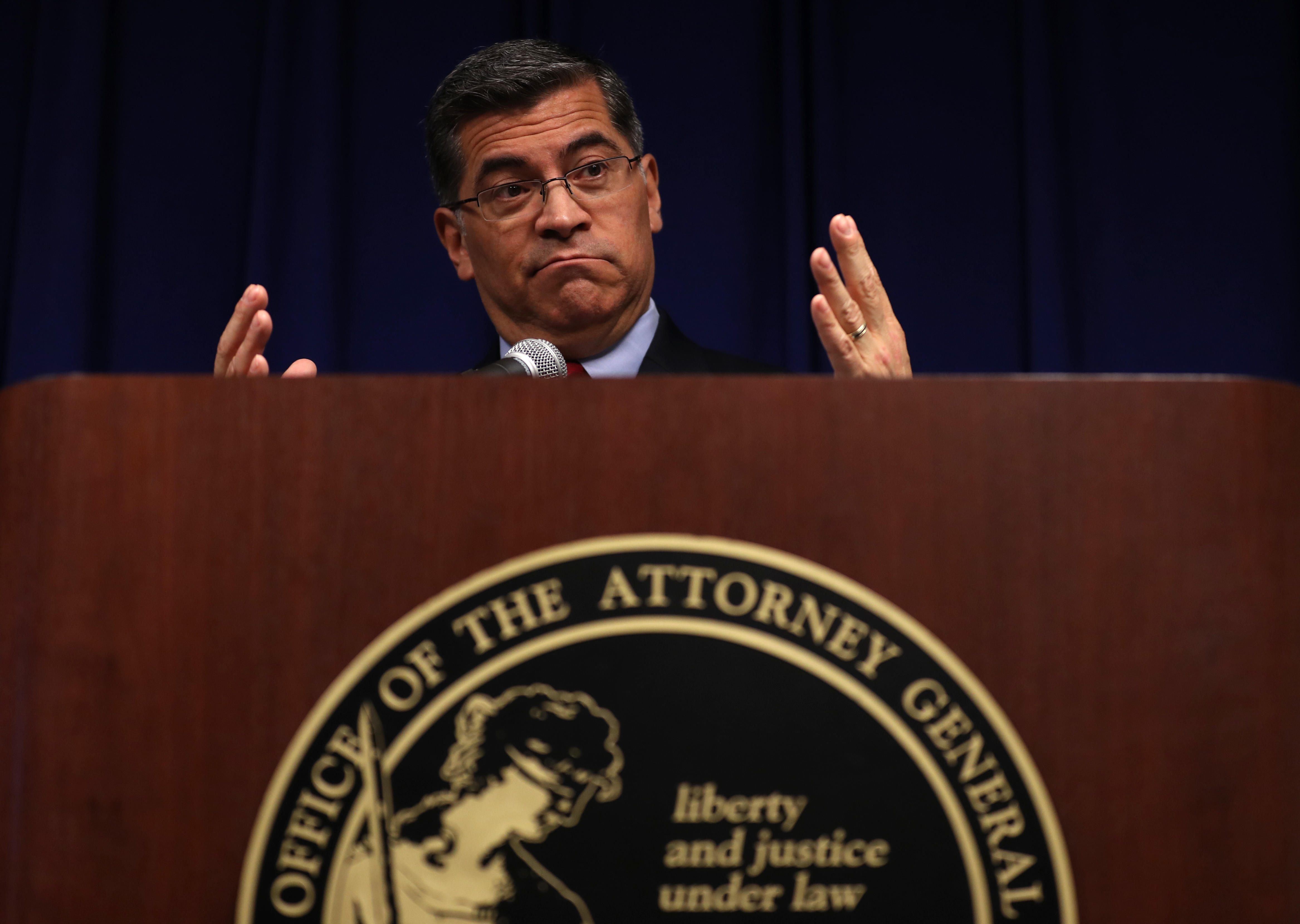 California Attorney General Xavier Becerra Announces Results Of His Office's Investigation Into Stephon Clark Killing