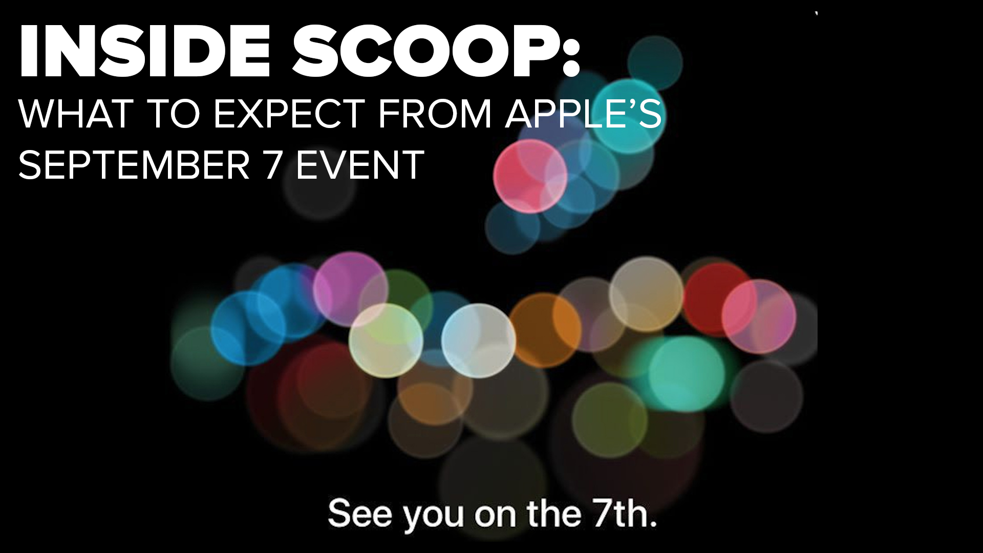 Video: Apple set to focus on iPhone at September 7 event