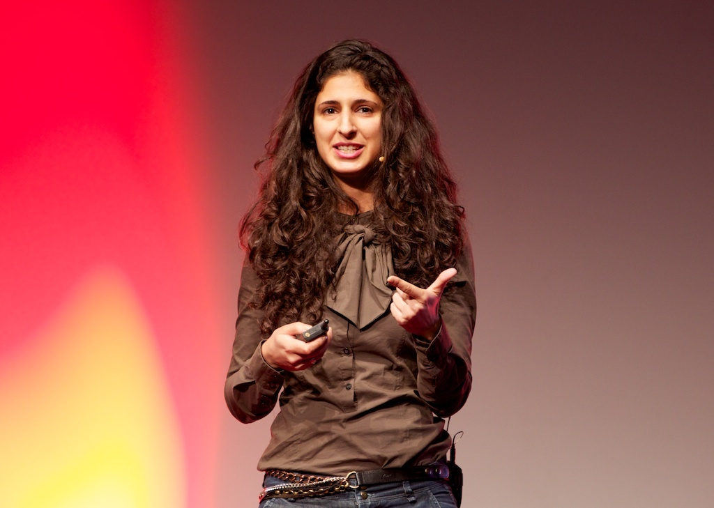 Nina Tandon, a senior fellow at Columbia University's Lab for Stem Cells and Tissue Engineering, speaking at TEDx Berlin.