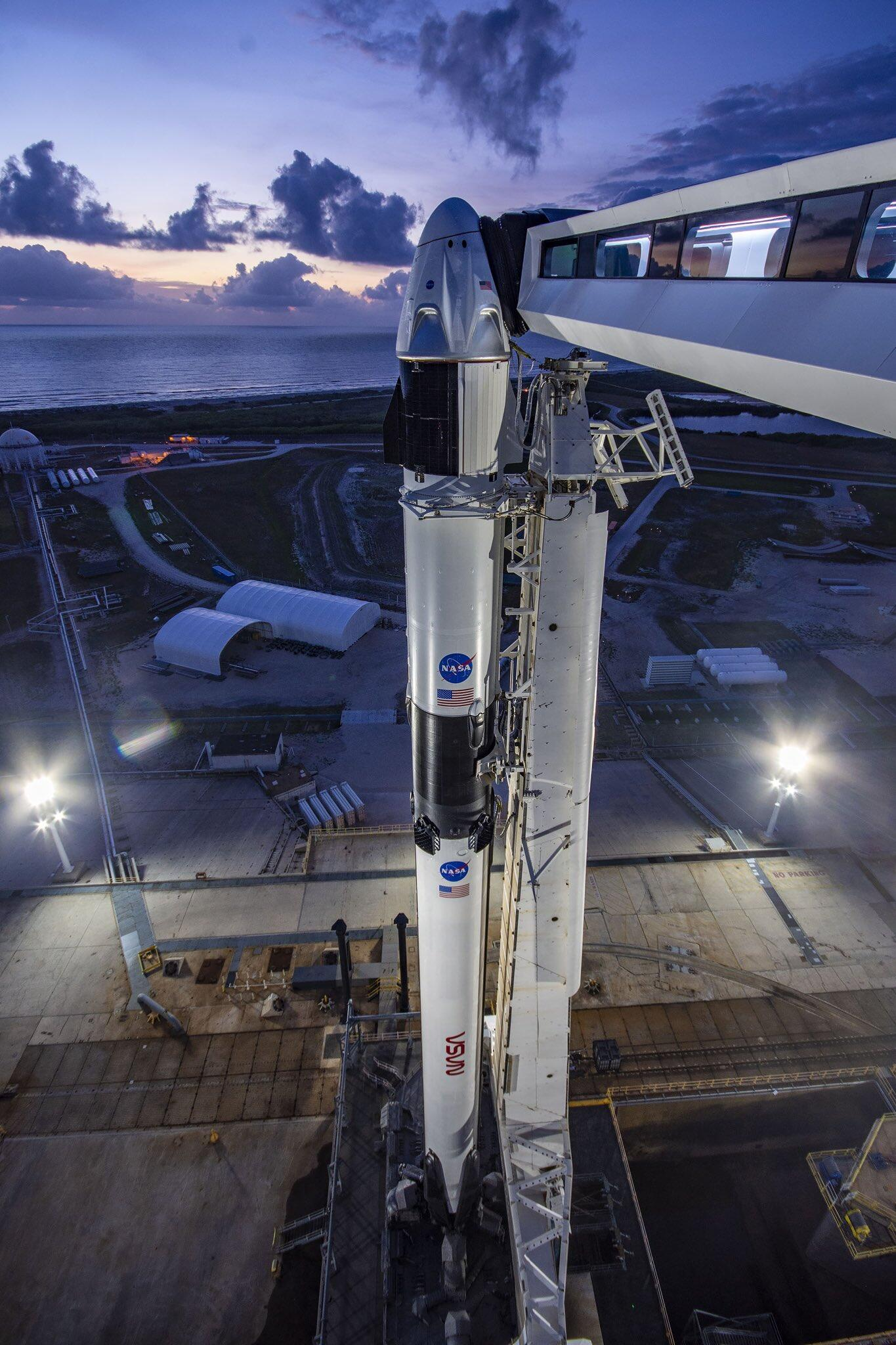 All systems go for SpaceX and NASA