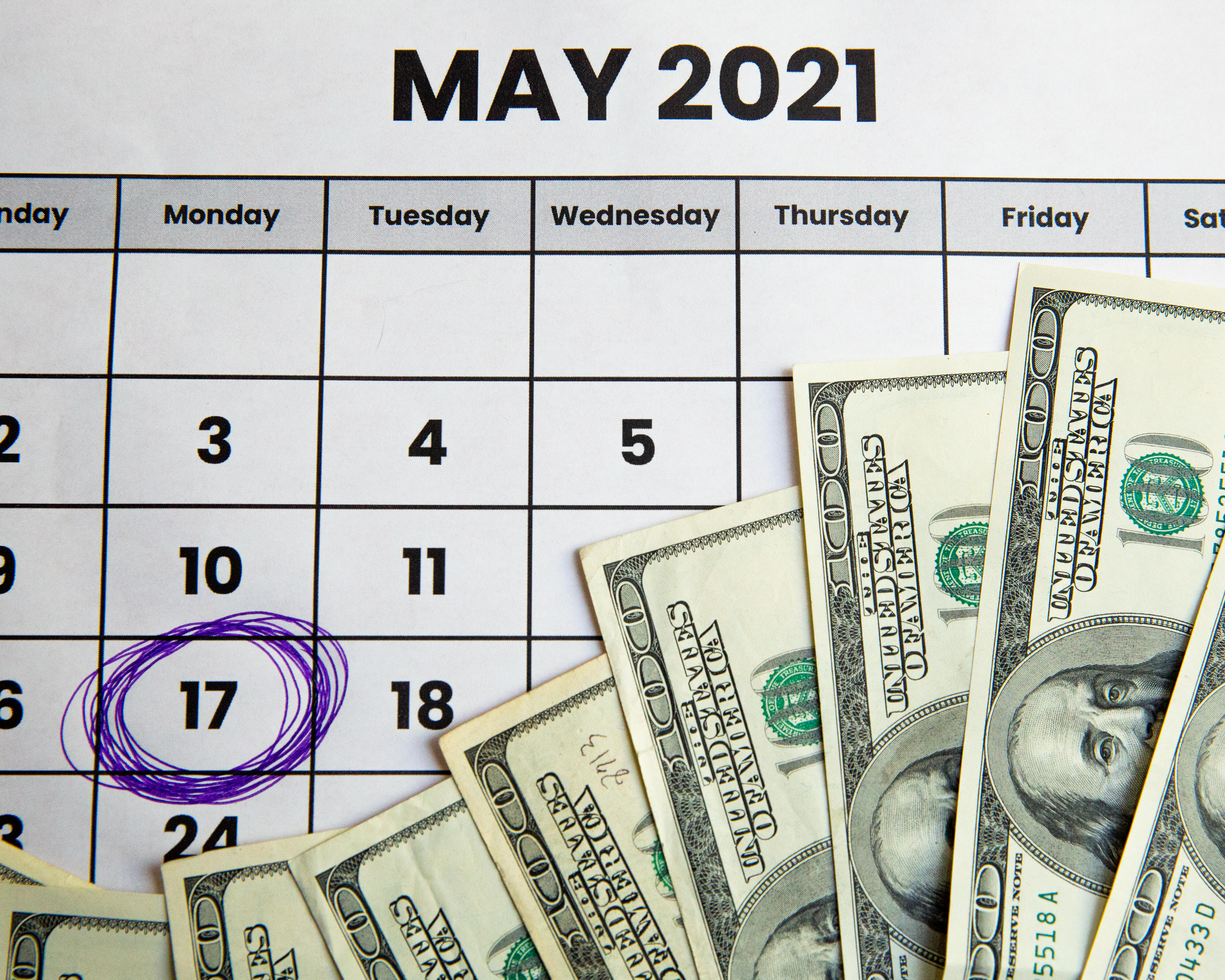 Tax Day is May 17th
