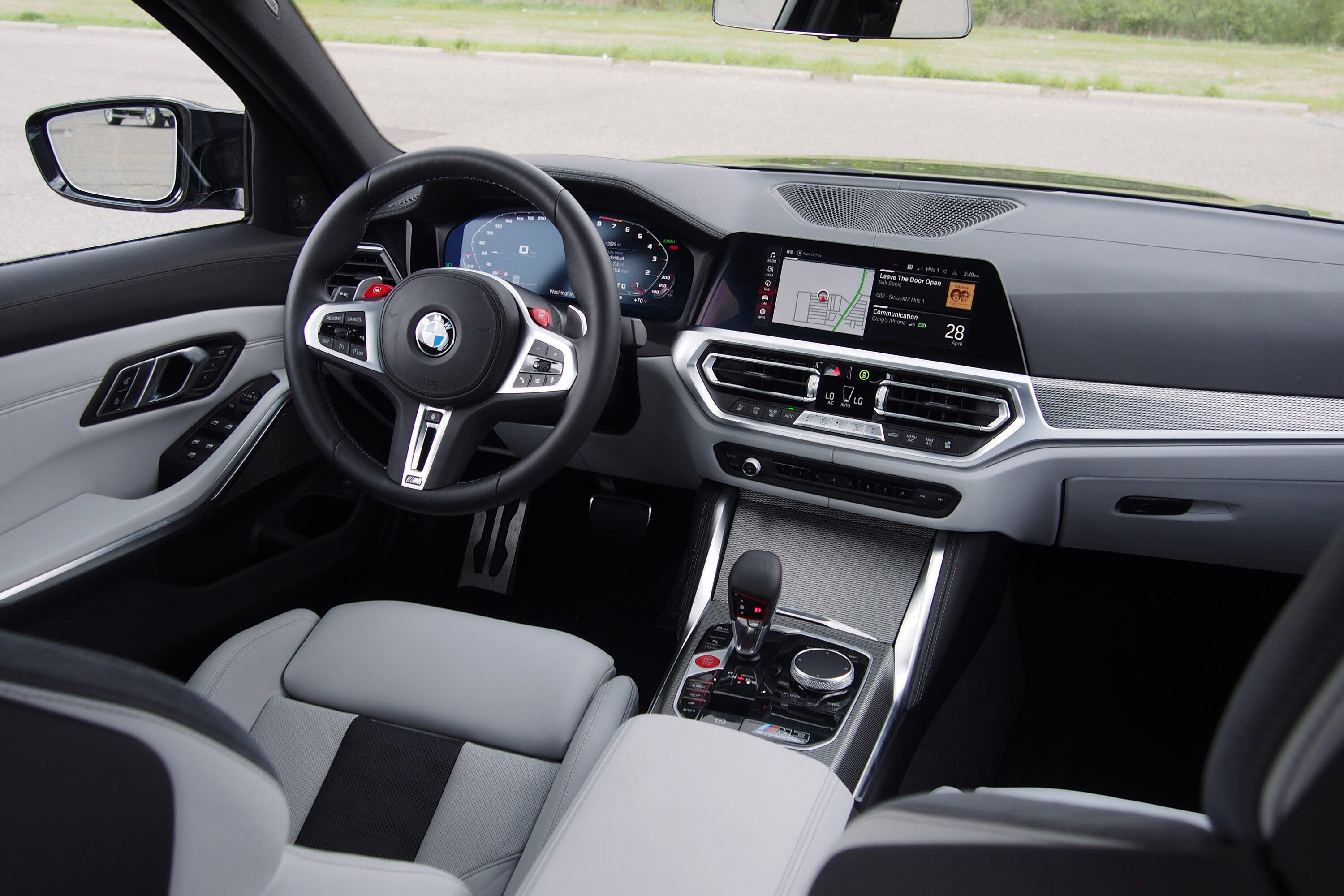 2021 BMW M3 Competition - luxury