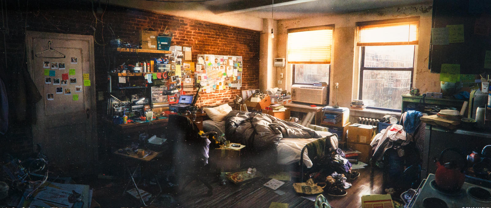 Peter Parker's Apartment by Dennis Chan