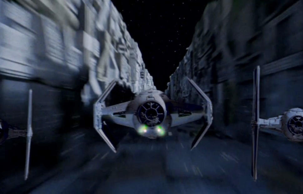 6. Darth Vader's TIE fighter