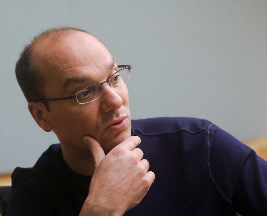 Andy Rubin, head of Google's Android project.