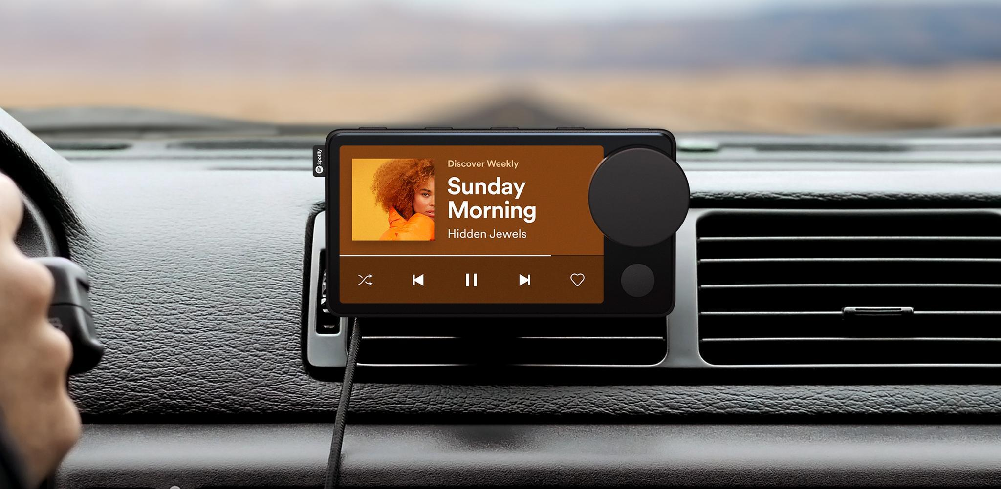 Spotify's Car Thing gadget