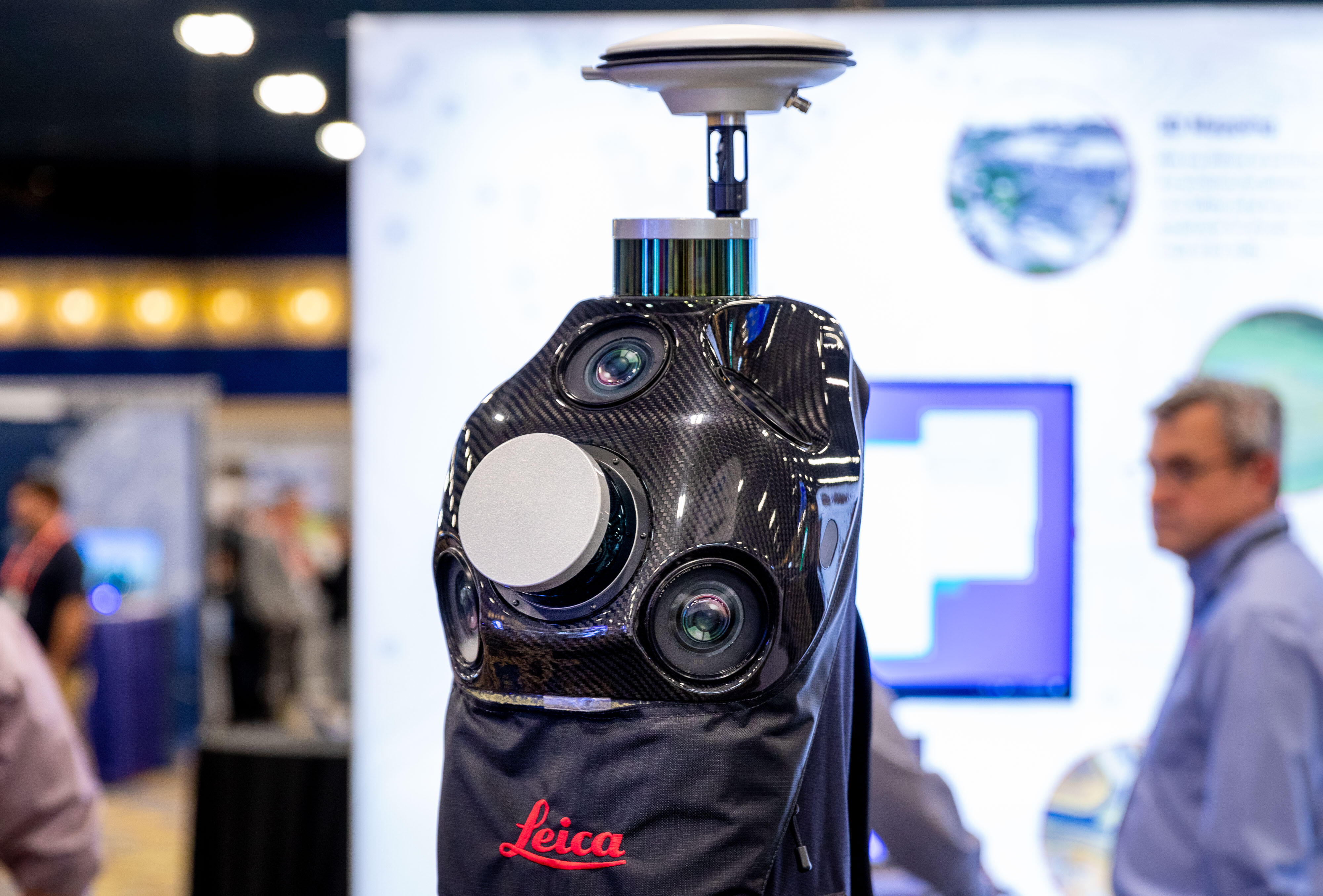 Leica Geosystems Pegasus scanning backpack