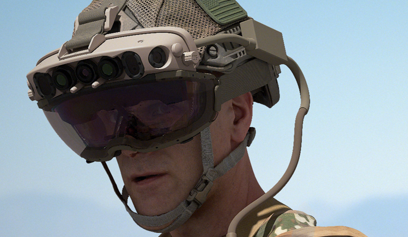 IVAS augmented reality headset by Microsoft for the US Army