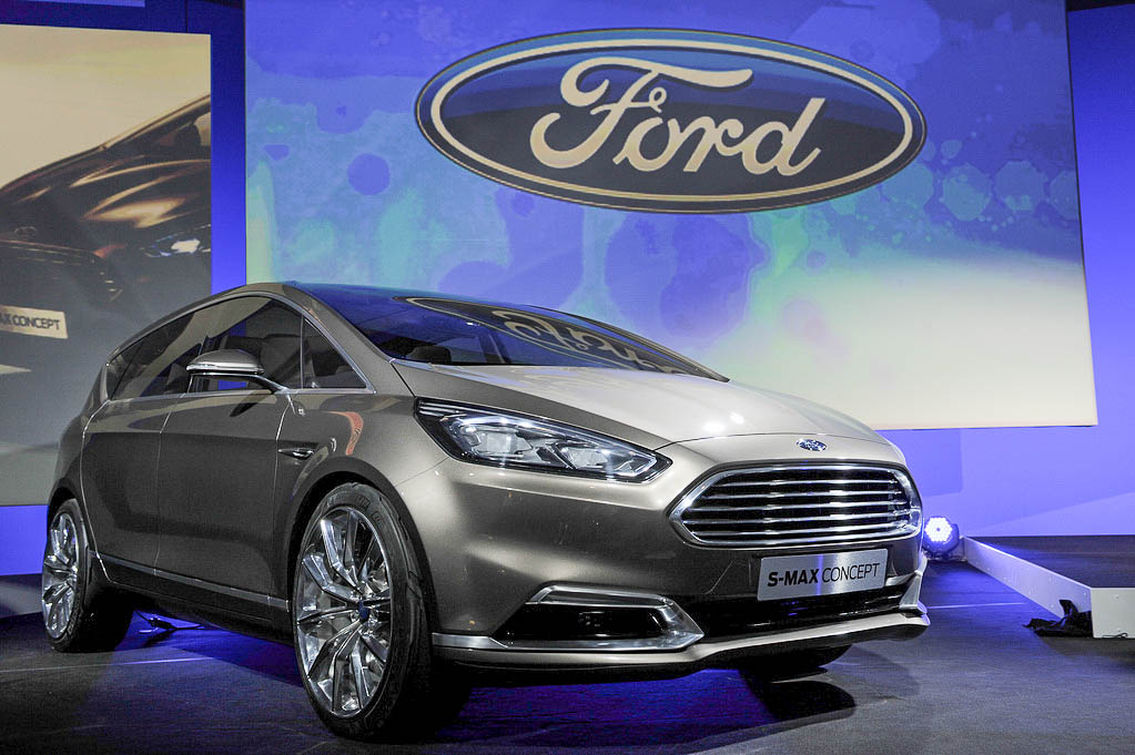 Ford's S-Max concept car at the IFA show in Berlin