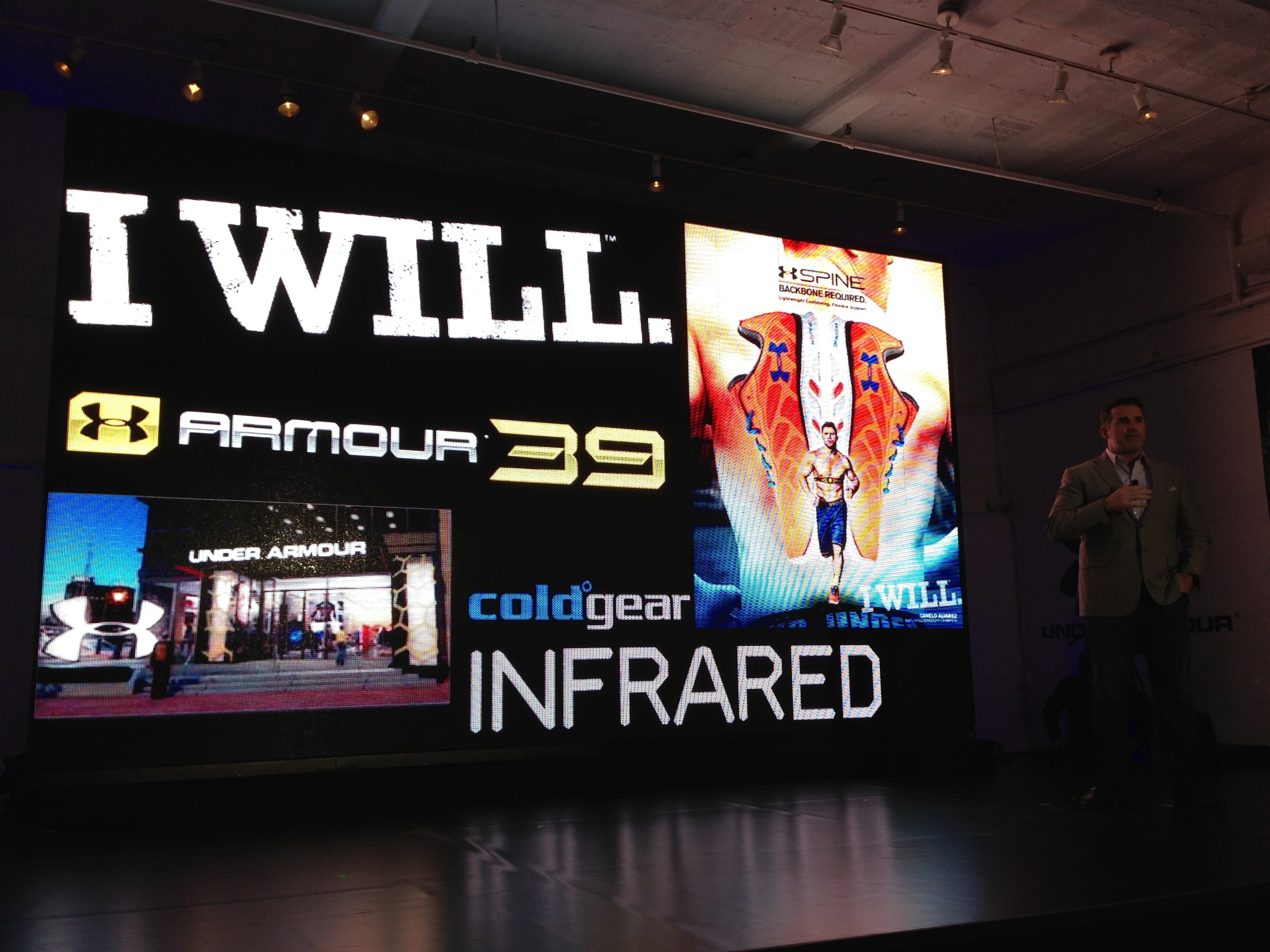 Under Armour's 'I Will' campaign