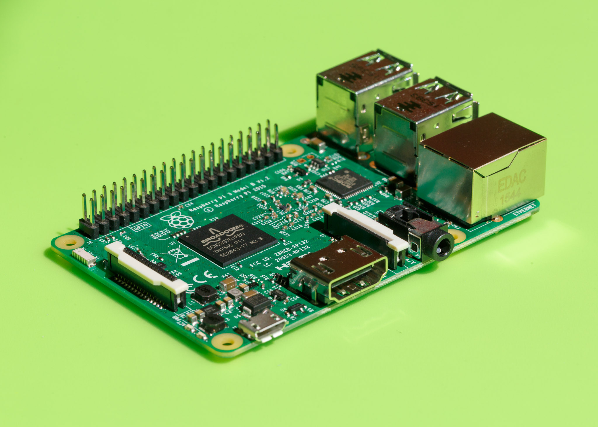 The Raspberry Pi 3 packs a lot of computing horsepower into a $35 circuit board for students.