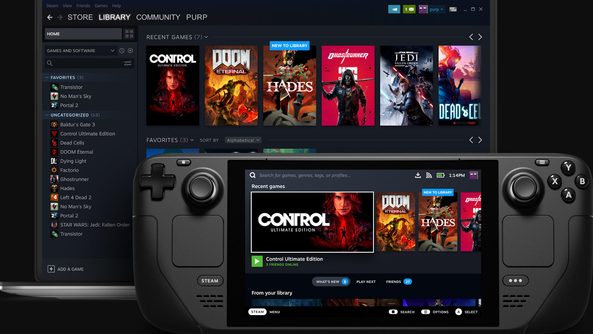 Video: Valve announces handheld console, Microsoft brings Windows to the cloud
