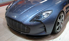 Aston's One-77 was just one of the drop dead yummy cars we brought back from Geneva for you.