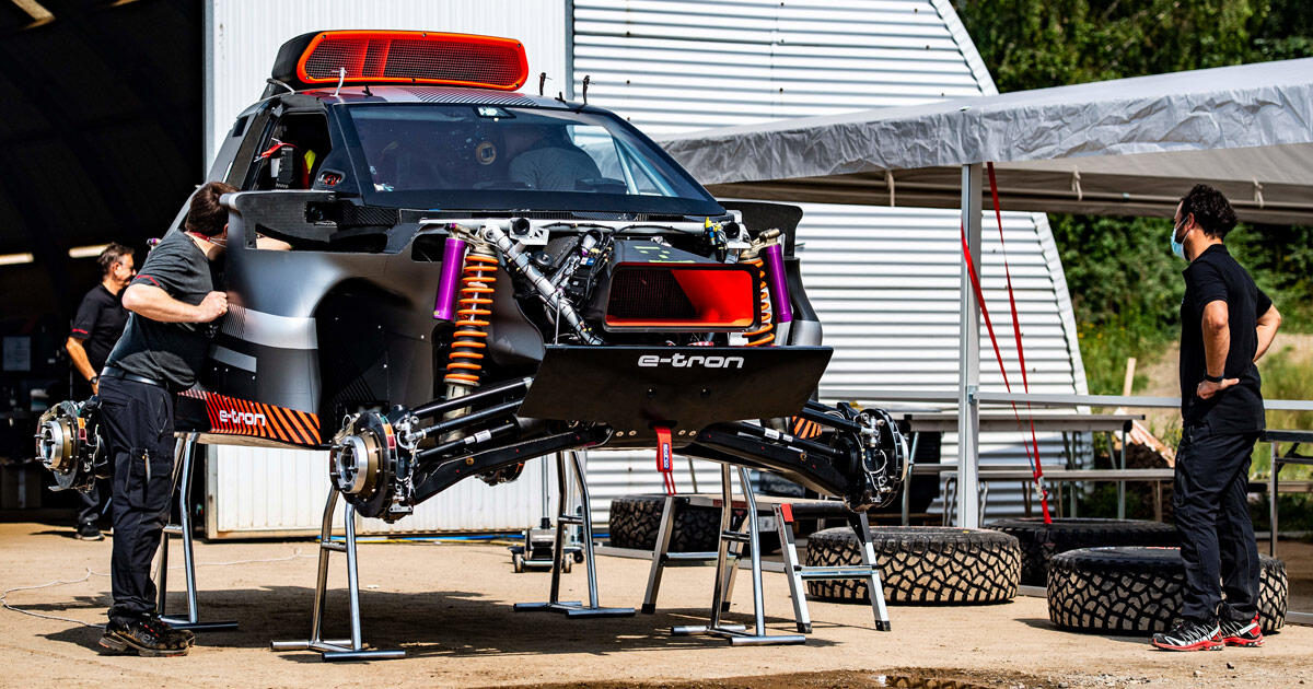 RS Q E-Tron: Audi's earth devil bound for Dakar is tested