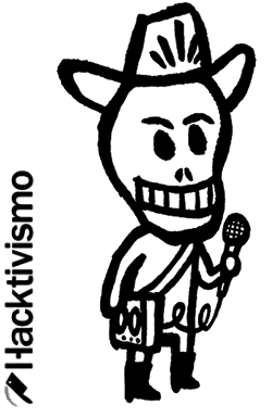 Hacktivismo was an off shoot of Cult of the Dead Cow.