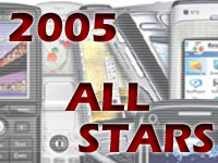 Top 10 mobile devices of 2005