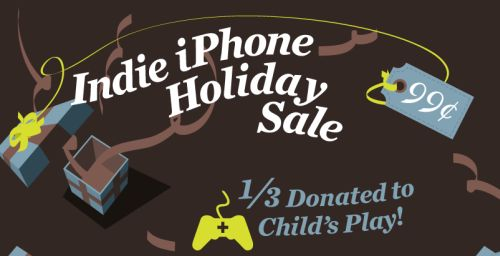 Like games? Here's your chance to save a few bucks on six indie champs--and support a worthy cause in the process.