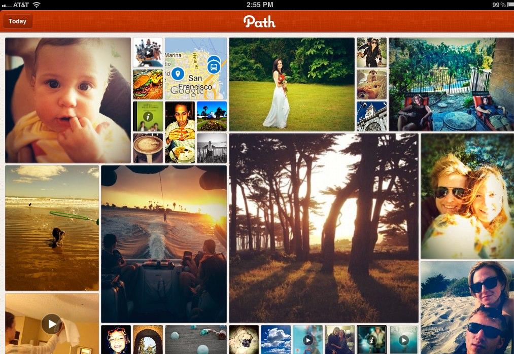 A look at Path for the iPad.