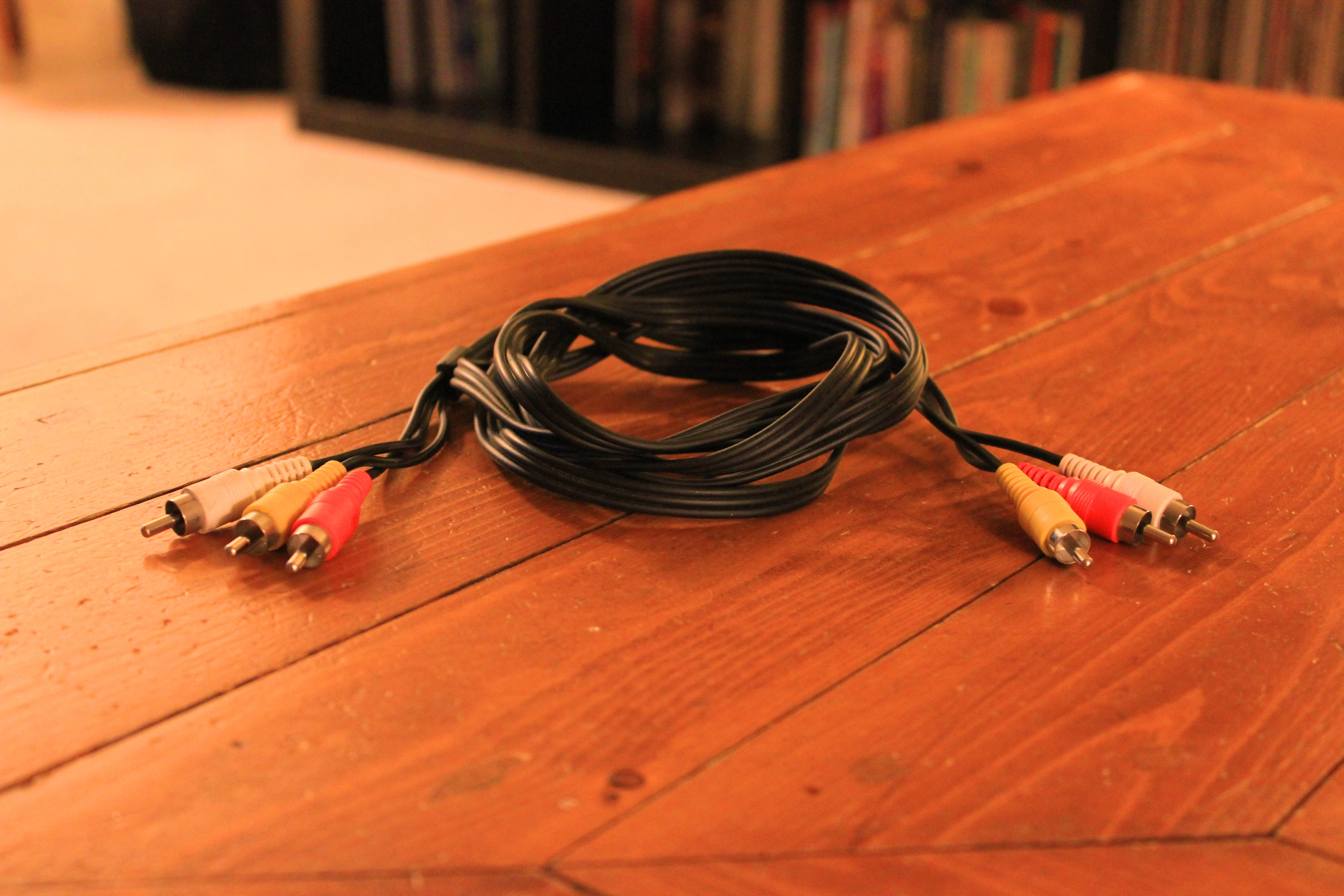 RCA component cable