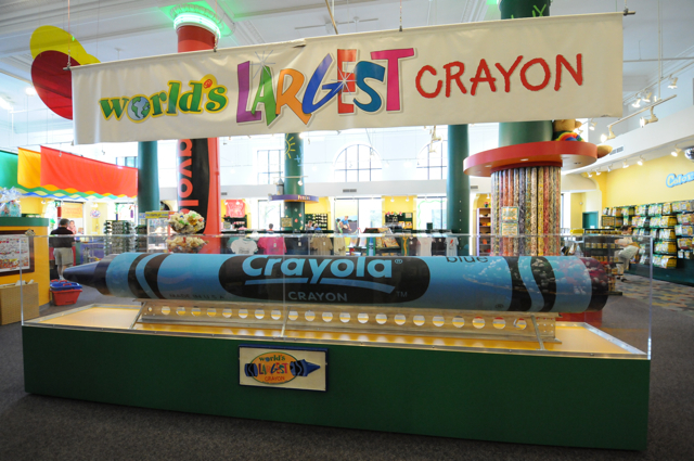 Largest crayon in the world