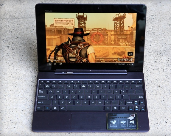 The Asus Transformer Prime tablet looks to be a winner. Its ability to morph into a bona fide laptop sets it apart. And it packs decent processing horsepower.