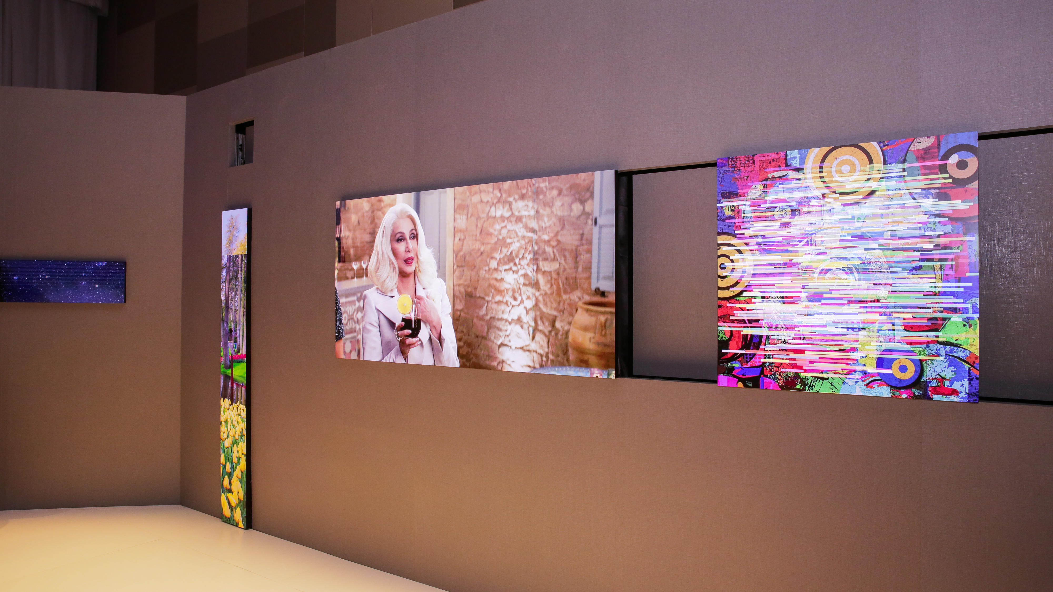 Samsung Micro LED The Wall CES 2019