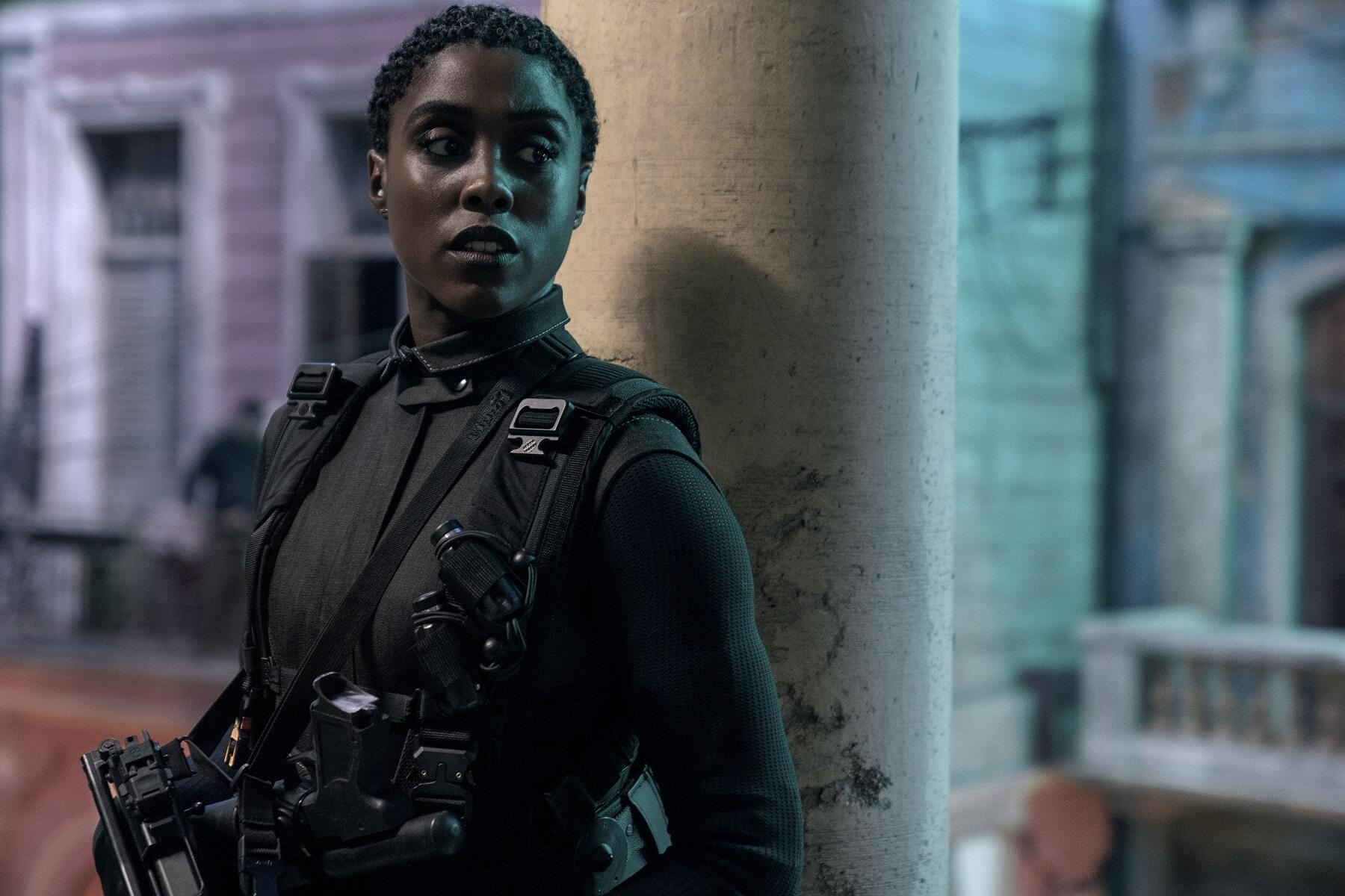 Lashana Lynch is the new 007 in No Time to Die.