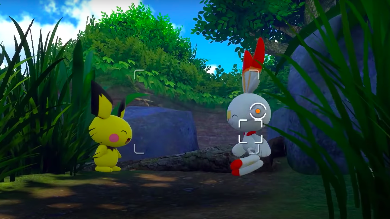 Action in New Pokemon Snap