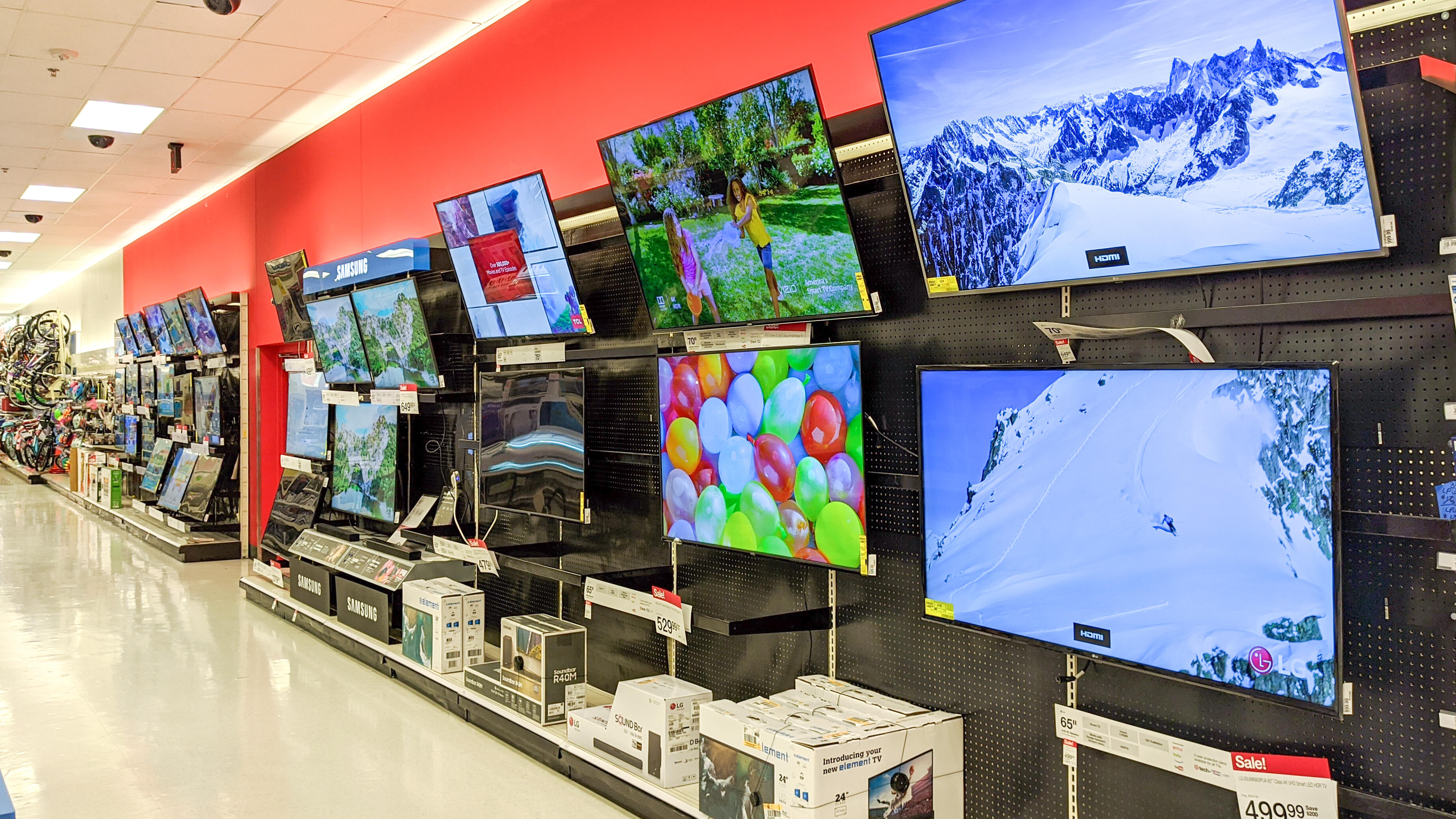 TV prices are the highest they've been in at least nine years
