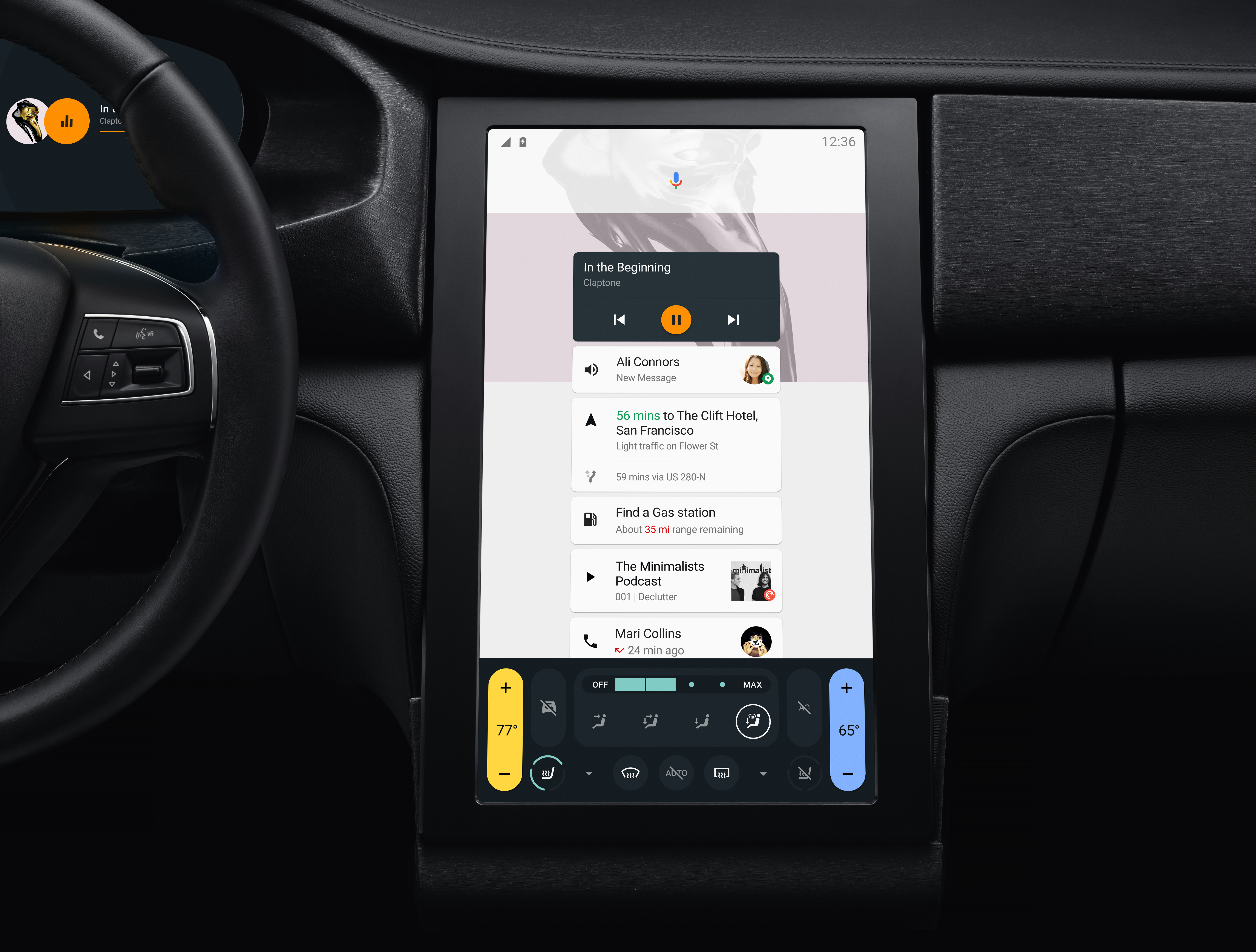 Android N in the car
