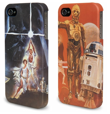 Also available: an engraved R2-D2 design and a case with Chewbacca fur (simulated, we hope).