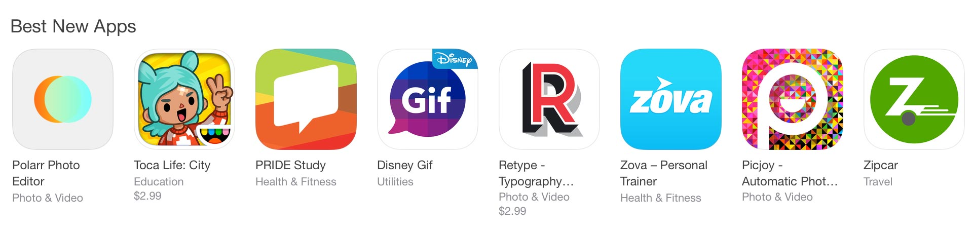 Polarr made it to the top ranking for best new app on Apple's App Store.