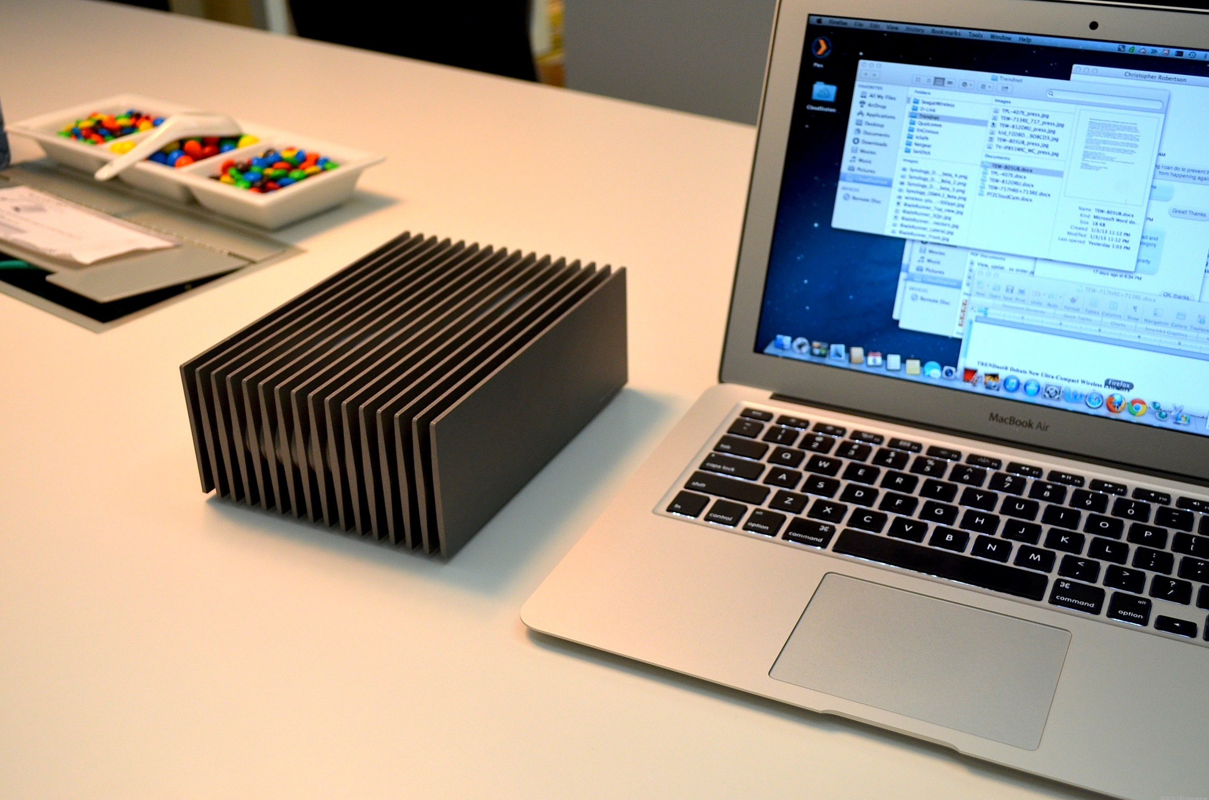 LaCie says the Blade Runner makes a bold statement when having it on the desk. Only 9,999 units of the drive are made.