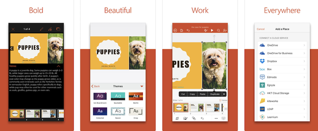 PowerPoint for iOS
