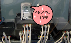Plat'Home server for extreme temperatures