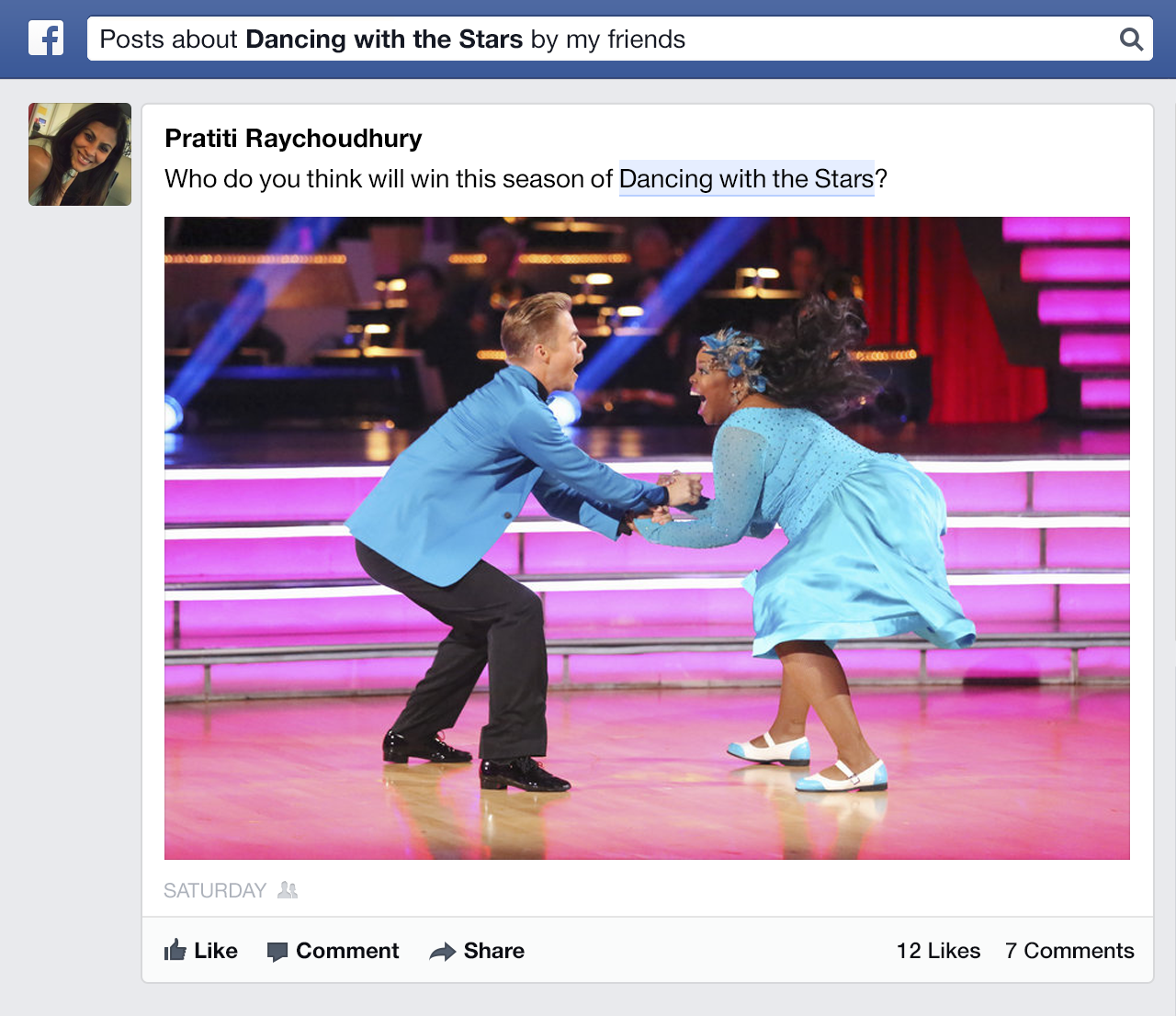 facebook graph search posts