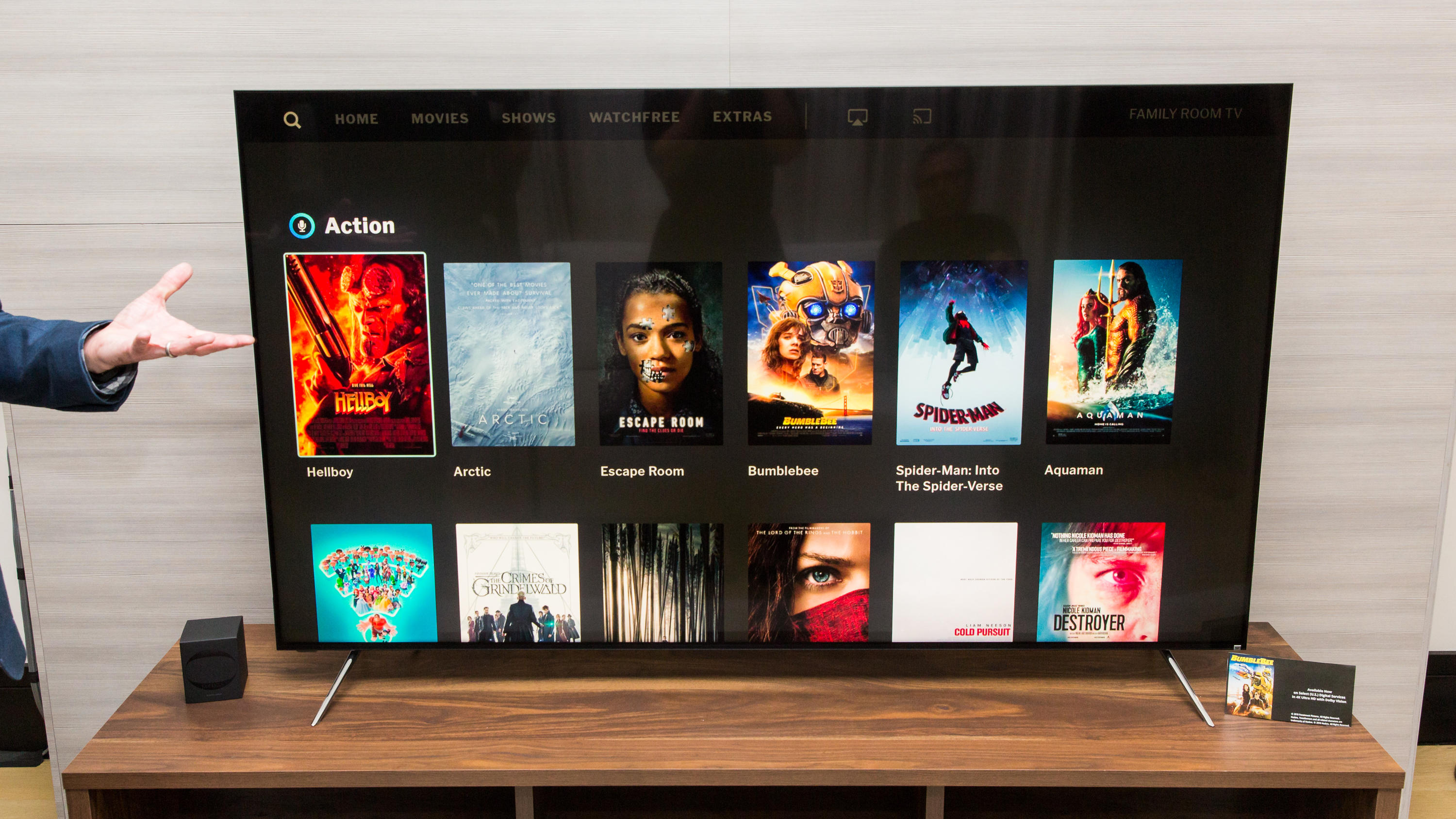 Vizio's 2019 TVs get Apple AirPlay 2, HomeKit and a lot of Quantum Dots