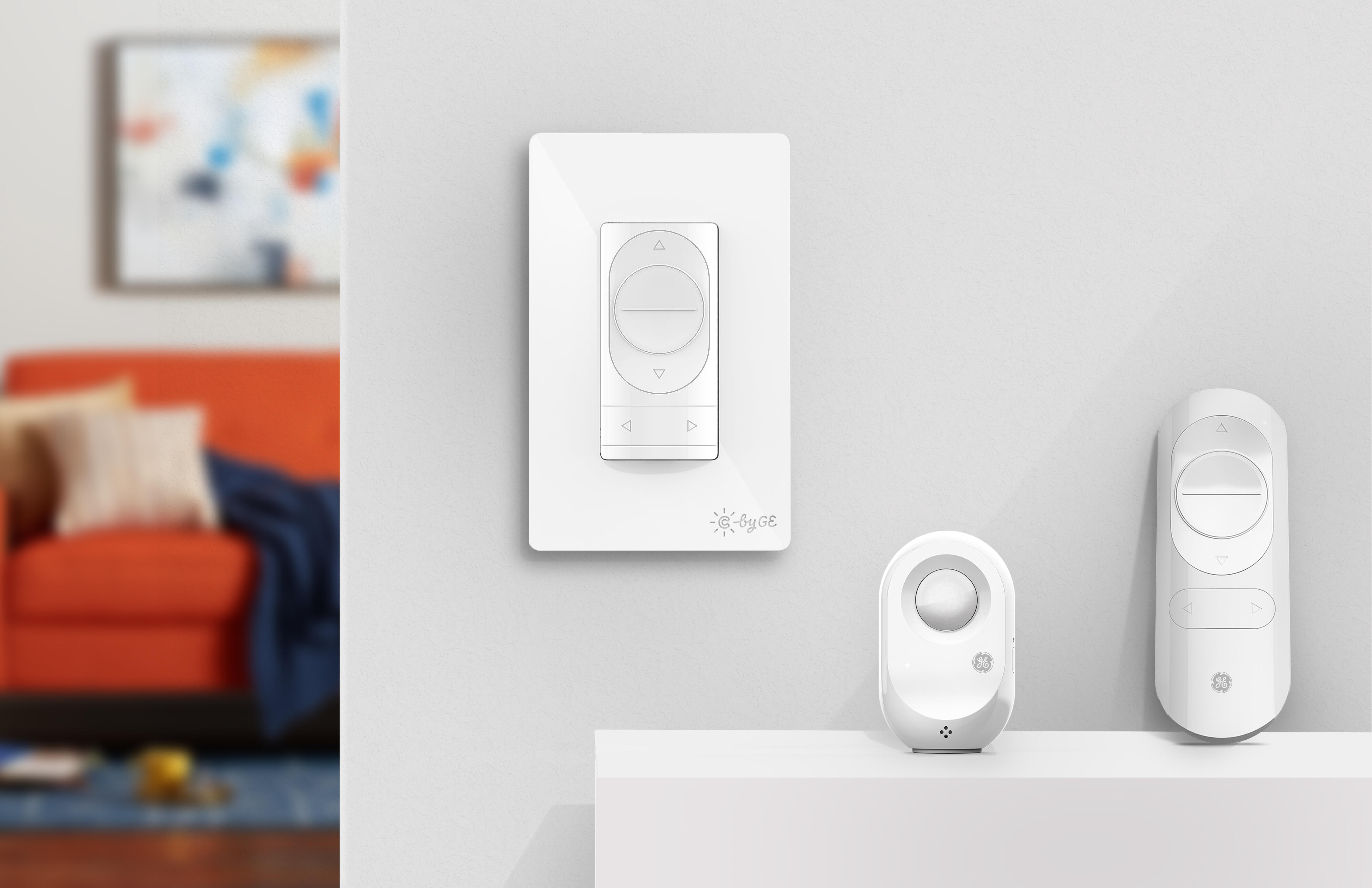 C by GE three-wire smart switches